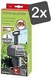 SuperCat Wühlmaus-Falle: Effiziente Schlagfalle, kein umständliches Graben oder Kraft erforderlich, 2 x 1er Set